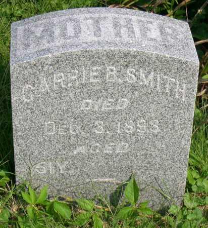 SMITH, CARRIE B. - Linn County, Iowa | CARRIE B. SMITH