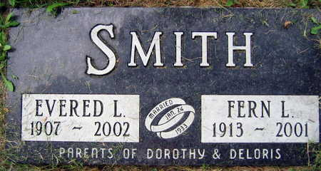 SMITH, EVERED L. - Linn County, Iowa | EVERED L. SMITH