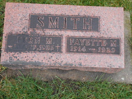 SMITH, FAYETTE M.   (FAYETTE MEREDITH) - Linn County, Iowa | FAYETTE M.   (FAYETTE MEREDITH) SMITH
