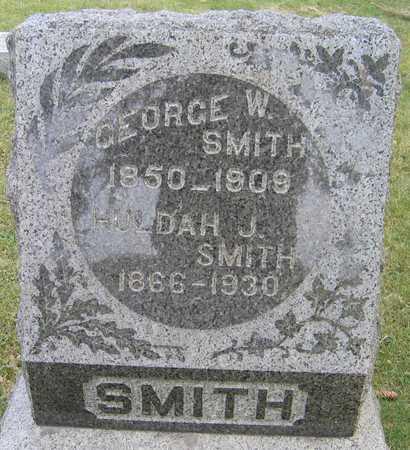 SMITH, GEORGE W. - Linn County, Iowa | GEORGE W. SMITH