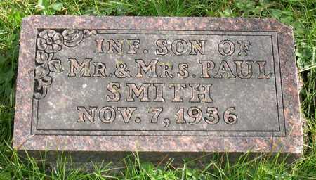 SMITH, INFANT SON - Linn County, Iowa | INFANT SON SMITH