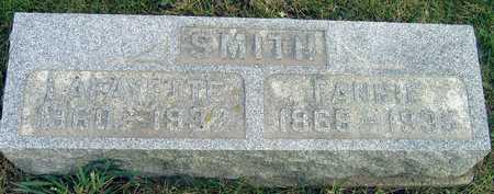 SMITH, FANNIE - Linn County, Iowa | FANNIE SMITH