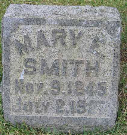 SMITH, MARY E. - Linn County, Iowa | MARY E. SMITH