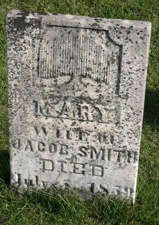 SMITH, MARY - Linn County, Iowa   MARY SMITH