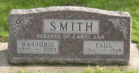 SMITH, MARJORIE - Linn County, Iowa | MARJORIE SMITH