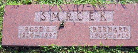 SMRCEK, BERNARD - Linn County, Iowa | BERNARD SMRCEK