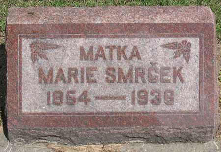SMRCEK, MARIE - Linn County, Iowa | MARIE SMRCEK