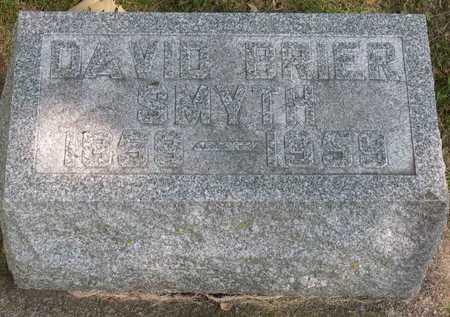 SMYTH, DAVID BRIER - Linn County, Iowa   DAVID BRIER SMYTH