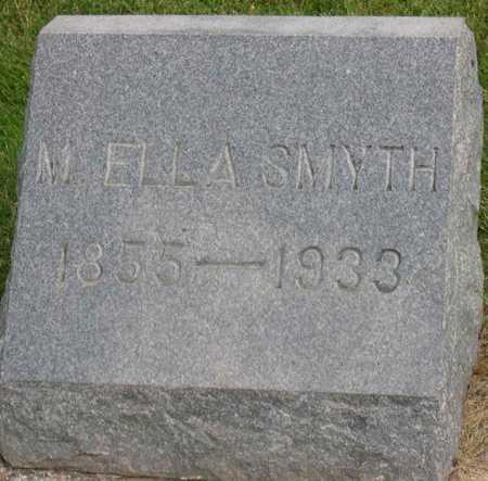 SMYTH, M. ELLA - Linn County, Iowa | M. ELLA SMYTH