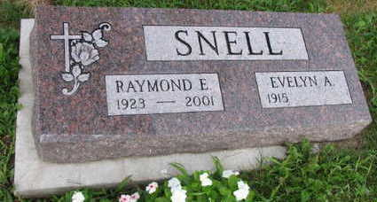 SNELL, RAYMOND E. - Linn County, Iowa   RAYMOND E. SNELL