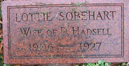 SOBEHART HADSELL, LOTTIE - Linn County, Iowa | LOTTIE SOBEHART HADSELL