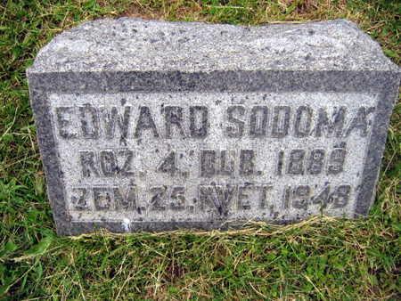 SODOMA, EDWARD - Linn County, Iowa | EDWARD SODOMA