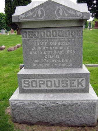 SOPOUSEK, JOSEF - Linn County, Iowa | JOSEF SOPOUSEK