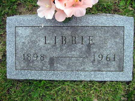 SOPOUSEK, LIBBIE - Linn County, Iowa | LIBBIE SOPOUSEK