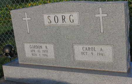 SORG, GORDON K. - Linn County, Iowa | GORDON K. SORG