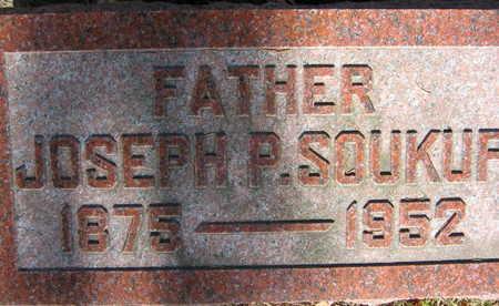 SOUKUP, JOSEPH P. - Linn County, Iowa   JOSEPH P. SOUKUP