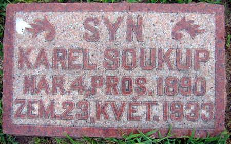SOUKUP, KAREL - Linn County, Iowa | KAREL SOUKUP