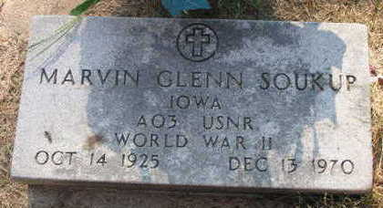 SOUKUP, MARVIN GLENN - Linn County, Iowa   MARVIN GLENN SOUKUP
