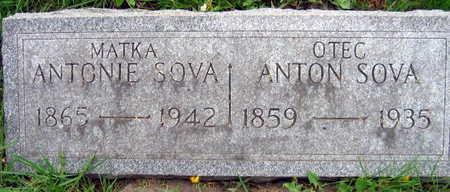 SOVA, ANTON - Linn County, Iowa   ANTON SOVA