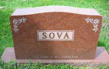 SOVA, FAMILY STONE   (KLINSKY BONSALL SOVA) - Linn County, Iowa   FAMILY STONE   (KLINSKY BONSALL SOVA) SOVA