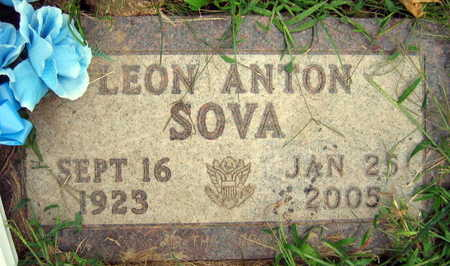SOVA, LEON ANTON - Linn County, Iowa | LEON ANTON SOVA