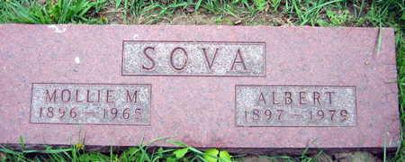 SOVA, MOLLIE M. - Linn County, Iowa | MOLLIE M. SOVA