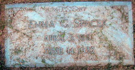 SPACEK, EMMA C. - Linn County, Iowa | EMMA C. SPACEK