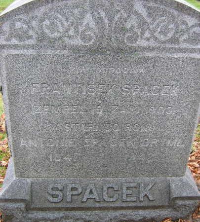 SPACEK DRYML, ANTONIE - Linn County, Iowa | ANTONIE SPACEK DRYML
