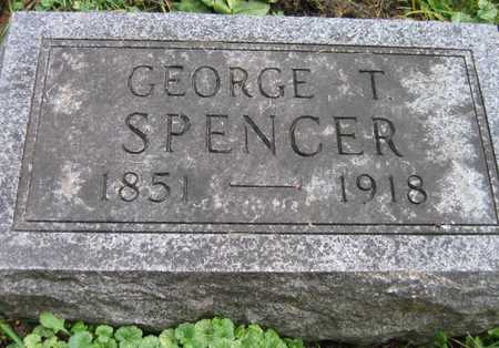 SPENCER, GEORGE T. - Linn County, Iowa | GEORGE T. SPENCER