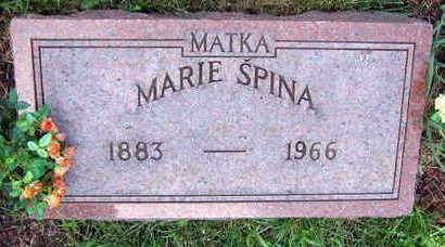 SPINA, MARIE - Linn County, Iowa | MARIE SPINA