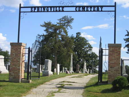 SPRINGVILLE, CEMETERY - Linn County, Iowa | CEMETERY SPRINGVILLE