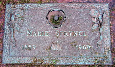 SPRYNCL, MARIE - Linn County, Iowa | MARIE SPRYNCL
