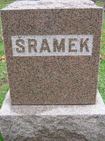 SRAMEK, FAMILY STONE - Linn County, Iowa | FAMILY STONE SRAMEK
