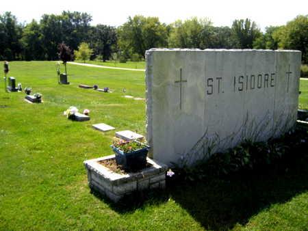 ST. ISIDORE, CEMETERY - Linn County, Iowa   CEMETERY ST. ISIDORE