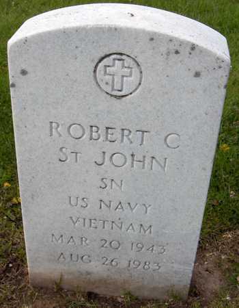 ST. JOHN, ROBERT C. - Linn County, Iowa | ROBERT C. ST. JOHN
