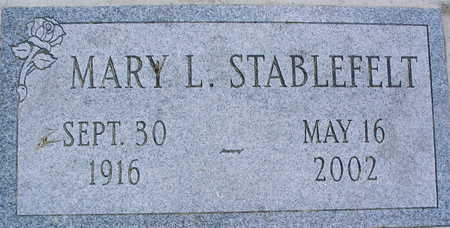 STABLEFELT, MARY L. - Linn County, Iowa | MARY L. STABLEFELT