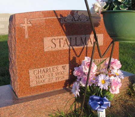 STALLMAN, CHARLES W. - Linn County, Iowa | CHARLES W. STALLMAN