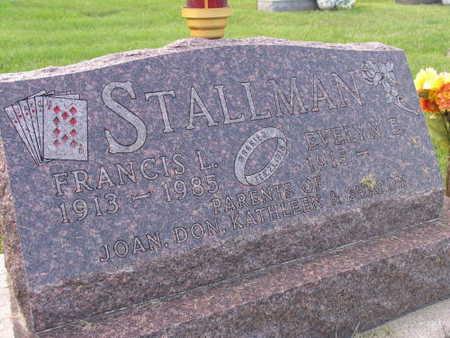 STALLMAN, FRANCIS L. - Linn County, Iowa | FRANCIS L. STALLMAN