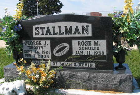 STALLMAN, GEORGE J. - Linn County, Iowa | GEORGE J. STALLMAN