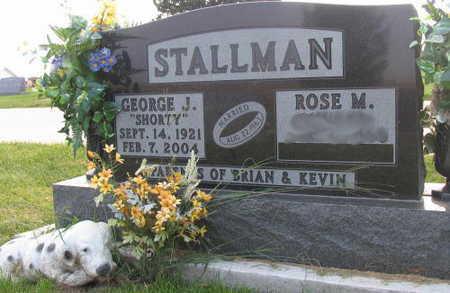 STALLMAN, GEORGE J.