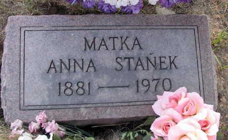 STANEK, ANNA - Linn County, Iowa | ANNA STANEK