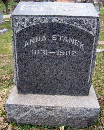 STANEK, FAMILY STONE - Linn County, Iowa | FAMILY STONE STANEK
