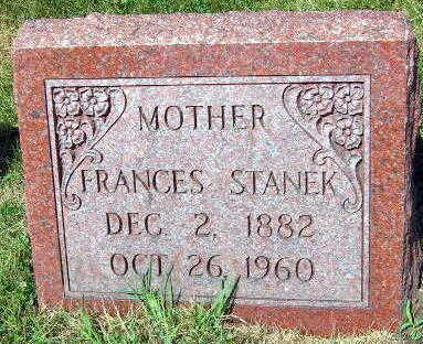 STANEK, FRANCES - Linn County, Iowa | FRANCES STANEK