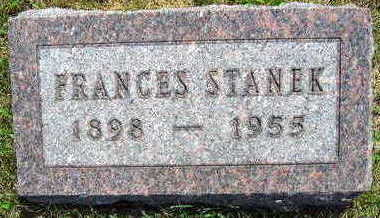 STANEK, FRANCES - Linn County, Iowa | FRANCES STANEK