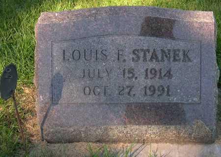 STANEK, LOUIS F. - Linn County, Iowa | LOUIS F. STANEK