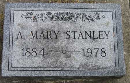 STANLEY, A. MARY - Linn County, Iowa   A. MARY STANLEY