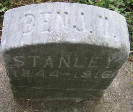 STANLEY, BENJ. - Linn County, Iowa   BENJ. STANLEY