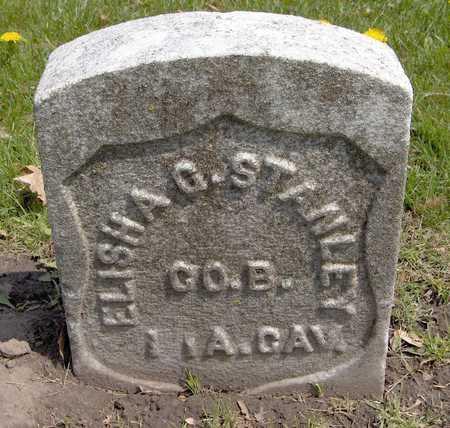 STANLEY, ELISHA G. - Linn County, Iowa | ELISHA G. STANLEY