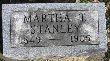 STANLEY, MARTHA T. - Linn County, Iowa   MARTHA T. STANLEY