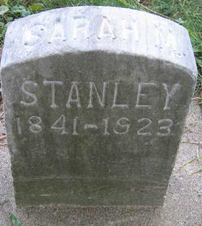 STANLEY, SARAH M. - Linn County, Iowa | SARAH M. STANLEY